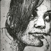 2009 Amie -etching on paper