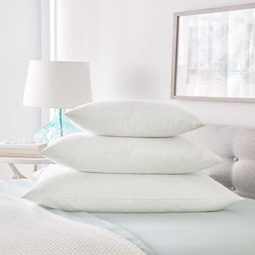 "DD Duck Feather Pillow Insert Euro Pack 26""x26"""