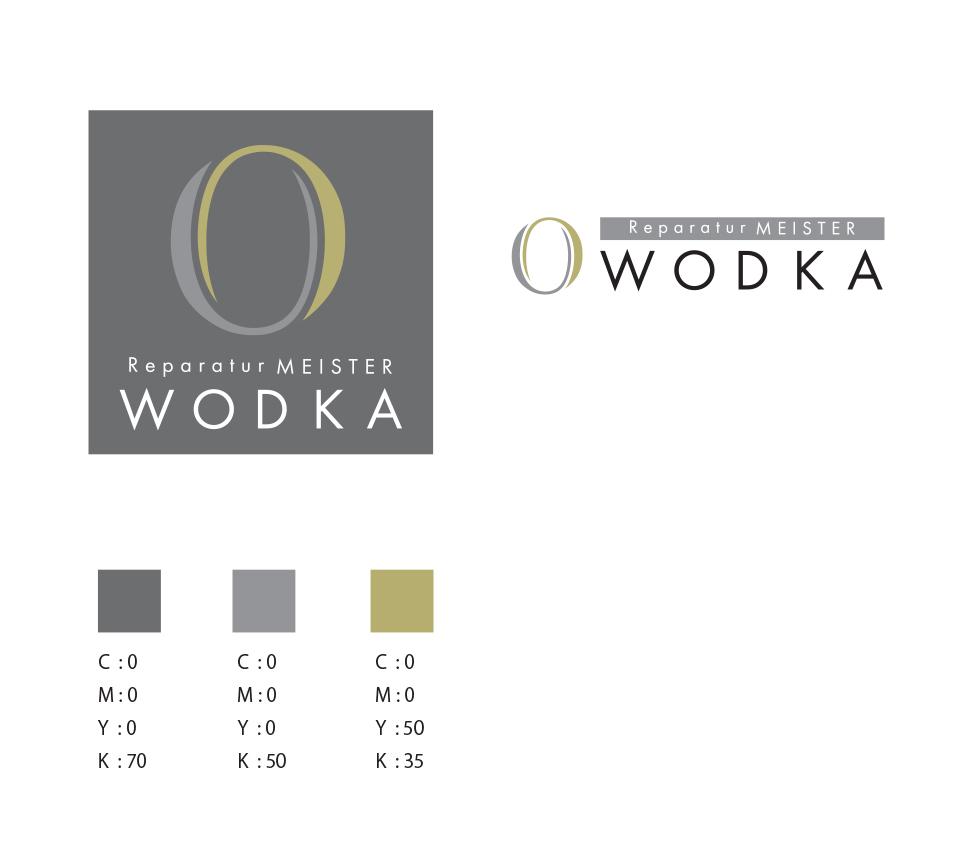 株式会社WODKA ロゴデザイン