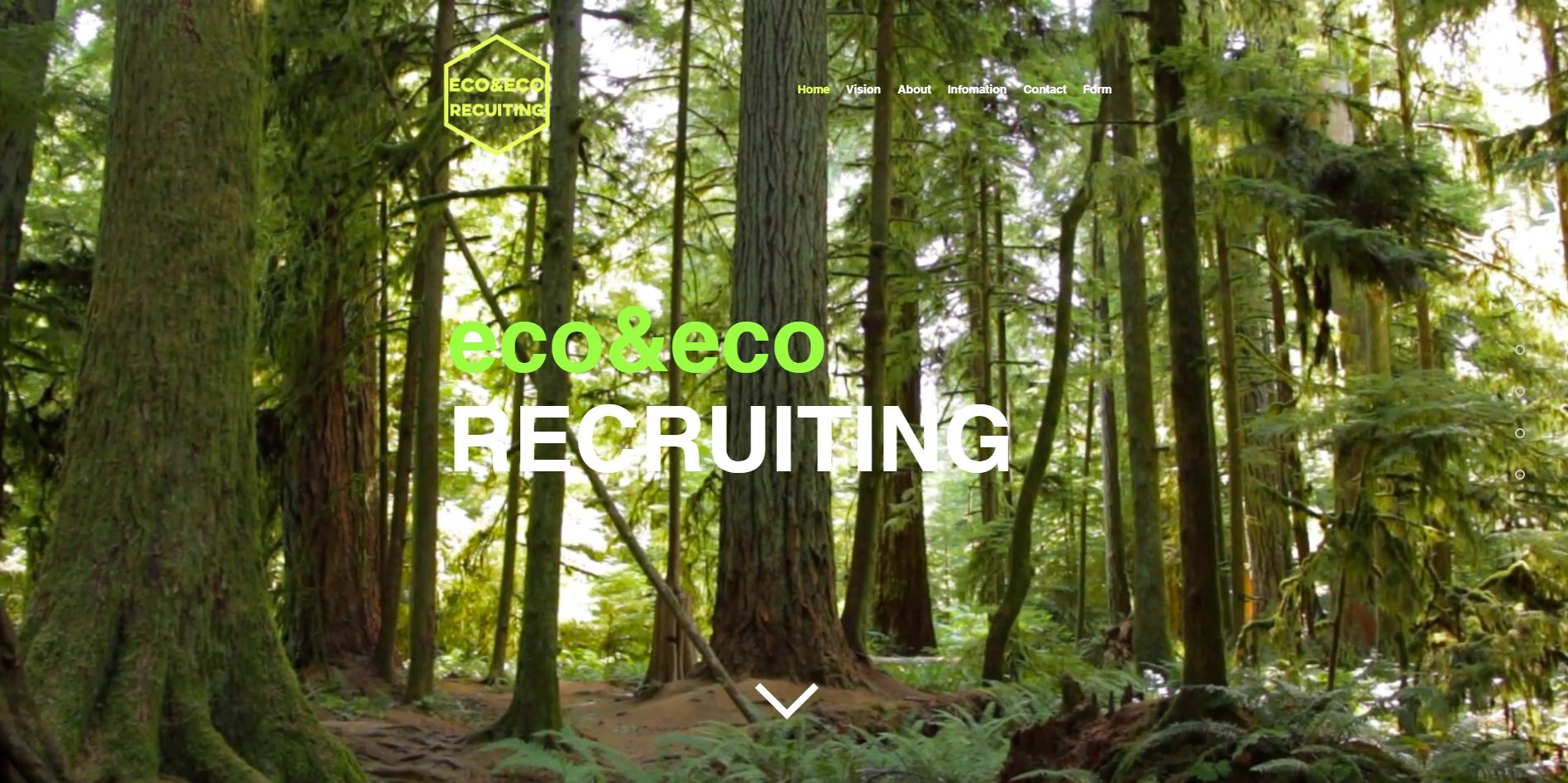 株式会社eco&eco様 リクルートサイト