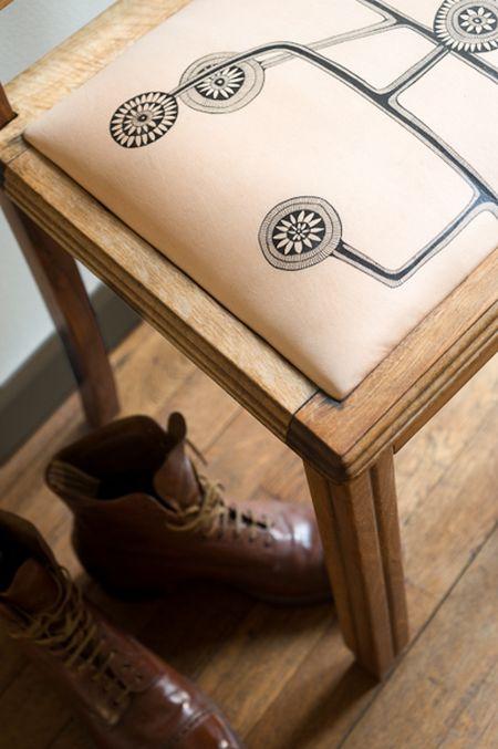 tapisserie chaise.tapisserie cuir