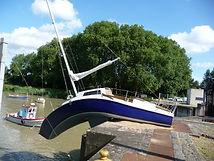 bateau mou erwin wurm.estuaire .taud gra