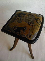 tapisserie tabouret.tapisserie cuir.sell