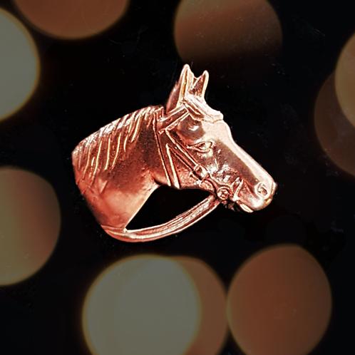 Bridled Horse Head Pendant
