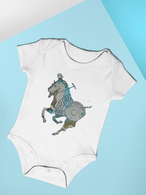 Greek Polo Pony Design (Turquoise)