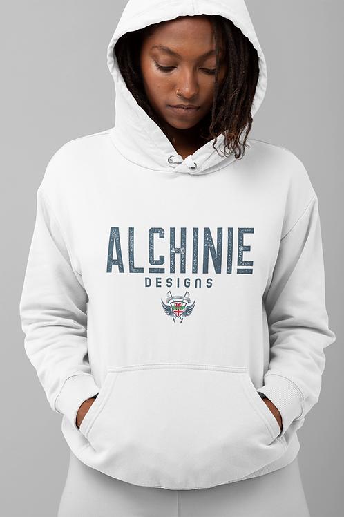 Alchinie Hoodie - Blue Logo ( Various Colours )