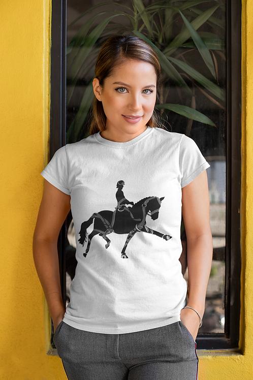 Bridled Dressage Horse