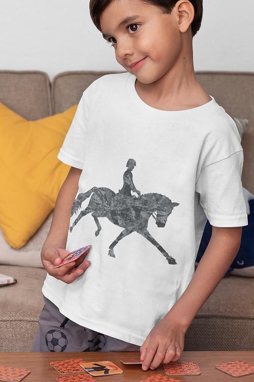 Grey Marble Horse T-Shirt