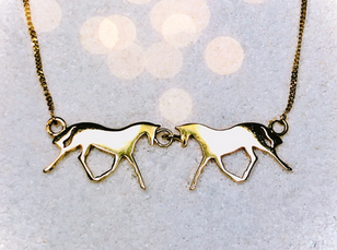 Double Horse Necklet