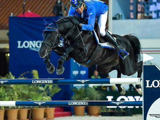 Al Shira'aa Horse Show 2020 comes to a close with the Al Shira'aa Longines Grand Prix.