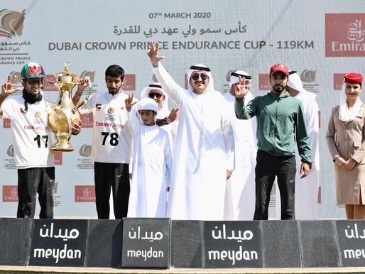 Dubai Crown Prince Endurance Cup goes to M7 Stables