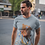 Thumbnail: H Polo Tap T-Shirt - Gents Round Neck