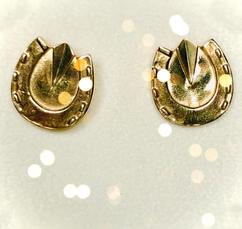 9ct Gold Hoof Earrings