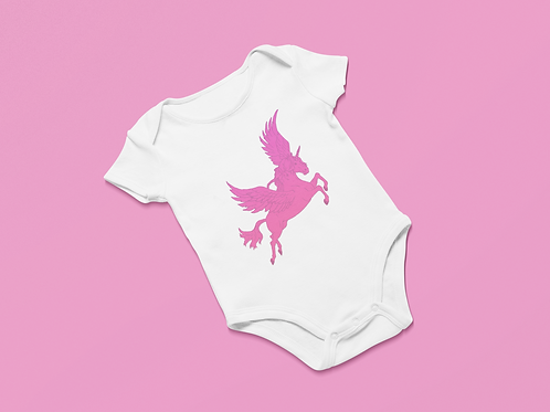 Etty Pink In Flight - Onesie