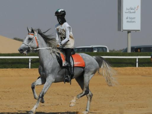Abdulla Ali Alamri wins the Sheikh Mohammed Bin Rashid Al Maktoum Endurance Festival CEN 120