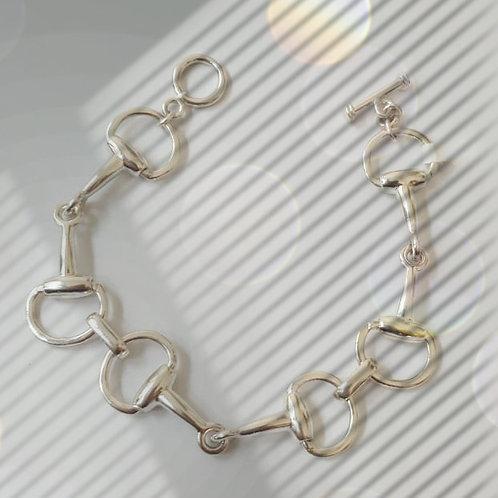 Lightweight Snaffle Bit Bracelet