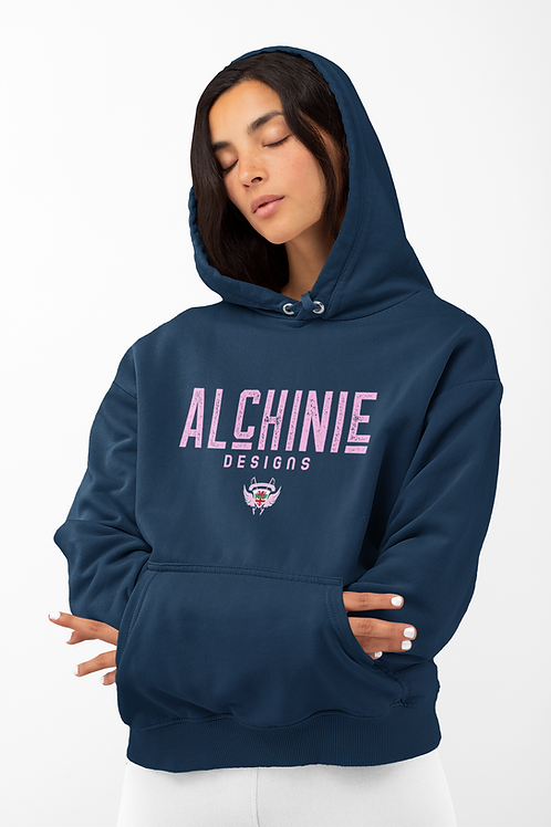 Alchinie Hoodie (Pink Logo)