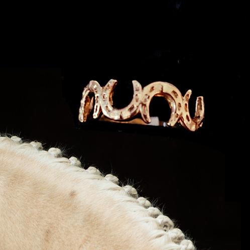 9ct Horseshoe Ring