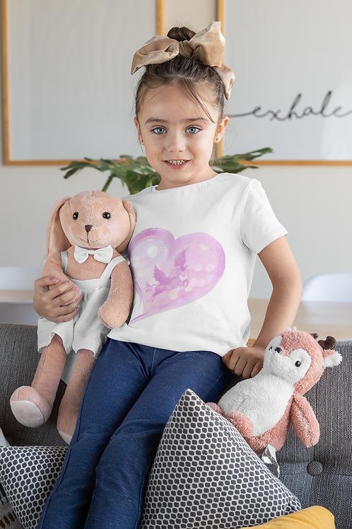 Etty Pink Heart T-Shirt