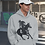 Thumbnail: Grey Polo Player Hoodie