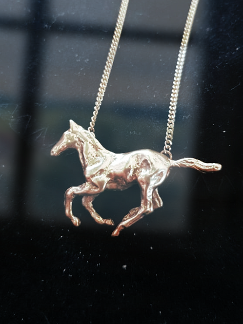 Galloping Foal Necklet