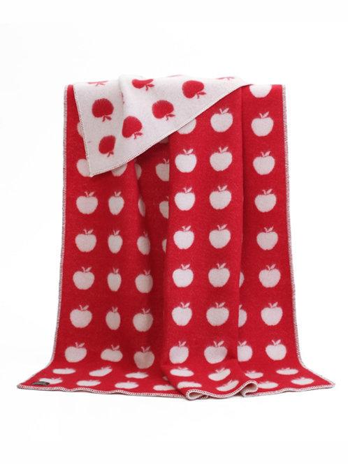 Red Apple Blanket