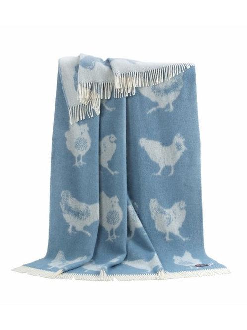 Blue Chicken Throw