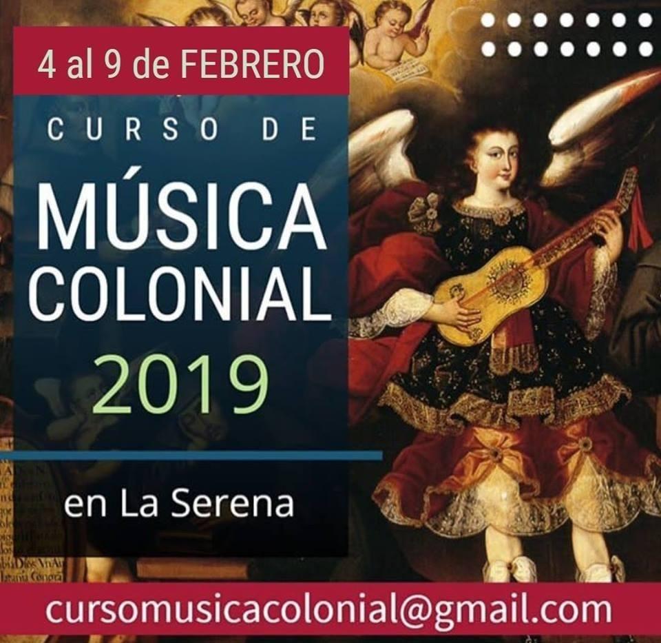 Curso Musica Colonial 2019