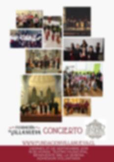 CONCIERTO FUNDACION VILLANUEVA 27 DE SEP
