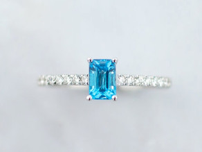 Consider Color, Is a Gemstone Engagement Ring Right for You?