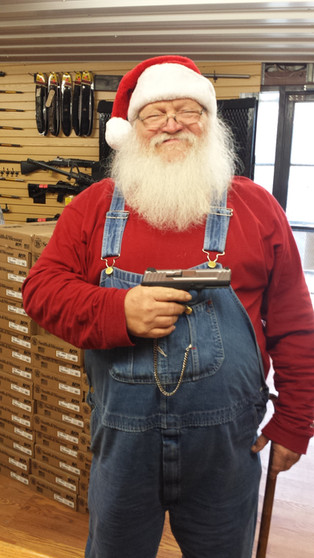 Even Santa Claus Shops at the Crazy Gun Dealer!!!!!!!!!!!!