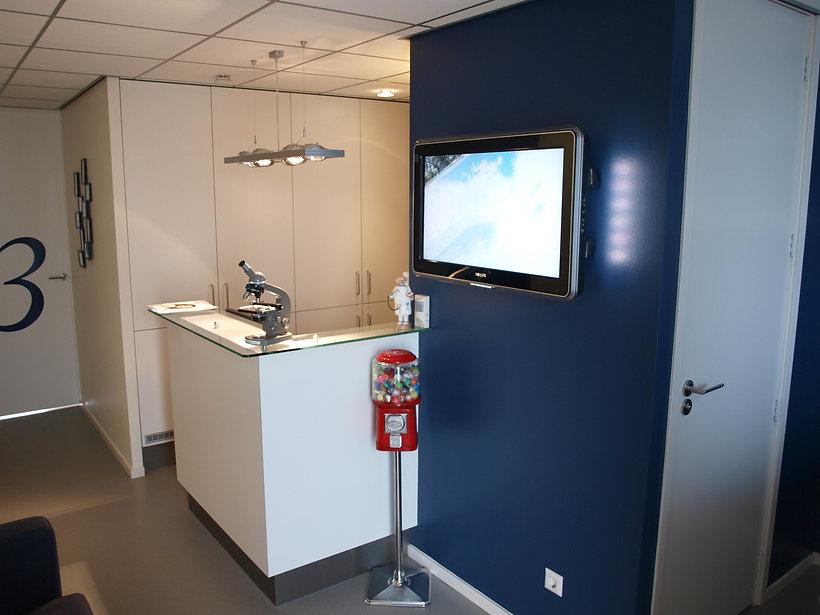 Balie tandartsenpraktijk zaandam