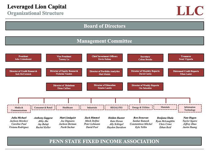 Leveraged Lion Capital Fall 2020 Organiz