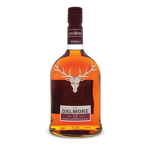 DALMORE 12 YEARS SCOTCH WHISKY 70CL