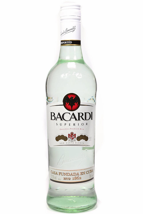 BACARDI WHITE 70CL