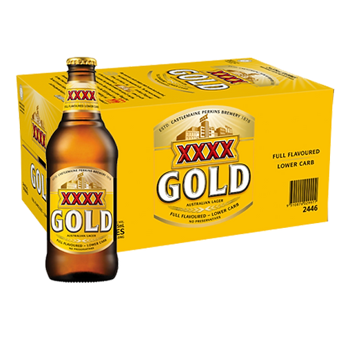 XXXX Gold Australian Pale Ale ( 24 X 330ml)