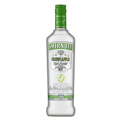 SMIRNOFF GREEN APPLE 75CL
