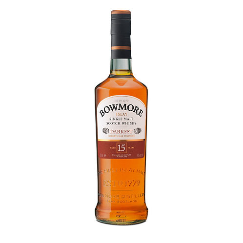 BOWMORE 15 YEARS SCOTCH WHISKY 70CL