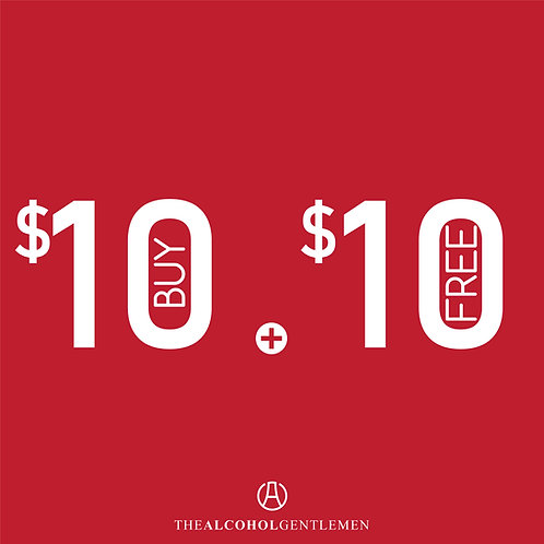 Buy $10 Free $10