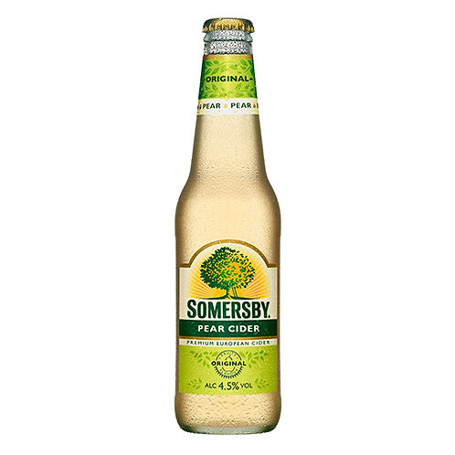 SOMERSBY PEAR CIDER 24 X 330ML