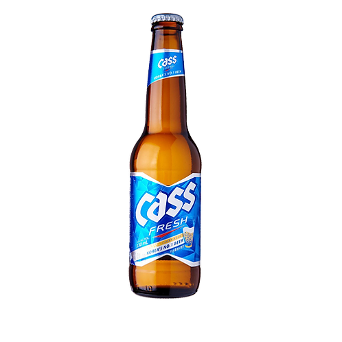 Cass Fresh Beer ( 24 Bottles  X 330ml)