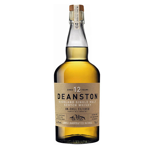 DEANSTON 12 YEARS SCOTCH WHISKY 70CL