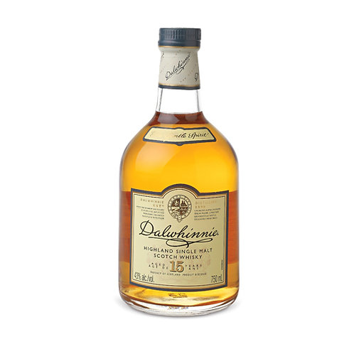 DALWHINNIE 15 YEARS SCOTCH WHISKY 70CL
