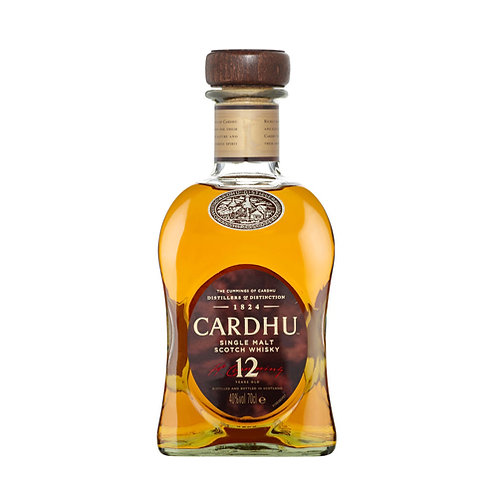 CARDHU 12 YEARS SCOTCH WHISKY