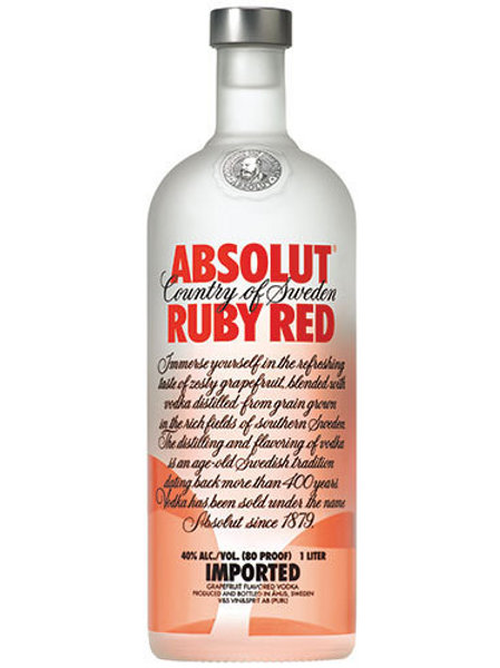 ABSOLUT RUBY RED 75CL