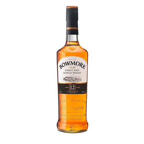 BOWMORE 12 YEARS SCOTCH WHISKEY 70CL
