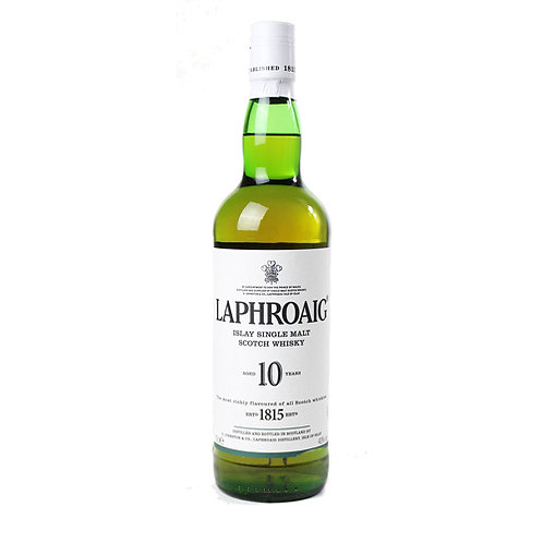 LAPHROAIG 10 YEARS SCOTCH WHISKY 70CL