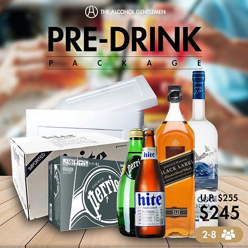 Pre- Drink Package