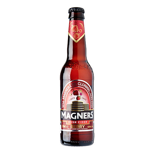 MAGNERS BERRY CIDER 24 X 330ML