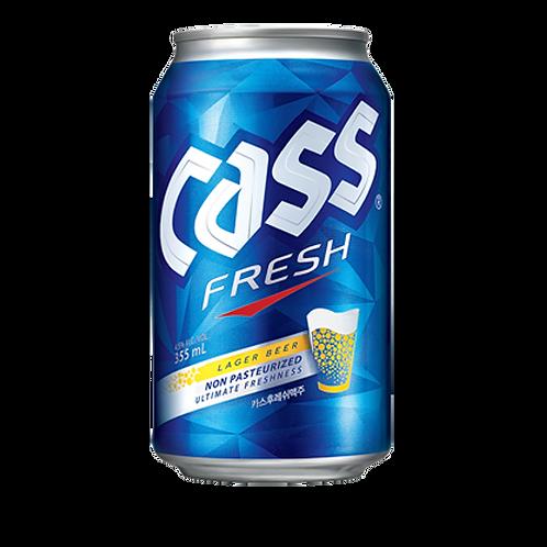 Cass Fresh Beer Can (24 X 330ml)